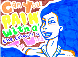 Pocahontas: Colors of the Wind by Chipgirl9