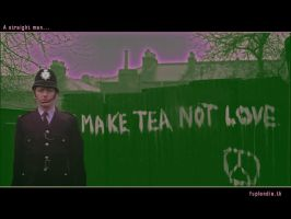 Make tea not war by Jackieale