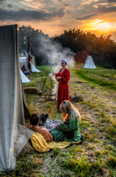 Evening in Camp by marrciano