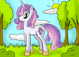 Sweetie Belle by Chocolateypony
