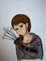 Katniss Everdeen by bellybearz