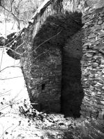 old structure by Sadelikfish