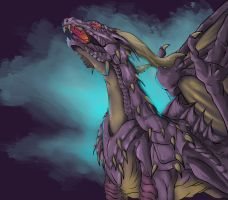 Cry in the Night by dragonrage-