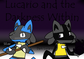 Silver and Dark Lucario: AT by BuizelKnight