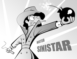 They call him Sinistar by AtomicTiki