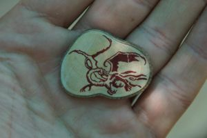 Smaug Bookmark by CLHarley