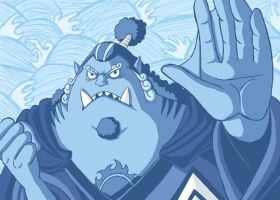 -First Son of the Sea- Jinbe by Erk-kun