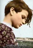 Miss Sophie Scholl by Livadialilacs