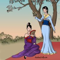Japanese Rita and Mrs.Malone by Paula432