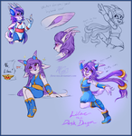 Freedump Planet: Lilac Concepts by Flora-Tea