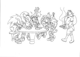 The Booms (free to color but credit me if you do) by thegreatrouge