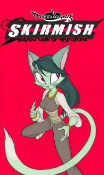 Streaming SKIRMISH card art- Lilith side A by Dreamkeepers