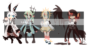 ADOPTABLES: Set 20 OPEN - 1 LEFT by arcevaus