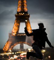 Jump in Paris by njx