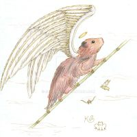 Angel Hamster by Scellanis