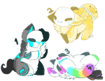 Numlings adopt::1 of 3 OPEN by Lpssparkle123