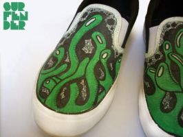 Shoes - green thoughts by surfender