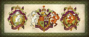 Wedding Coat of Arms by HeatherHitchman