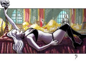lady death color.... by Ruihq