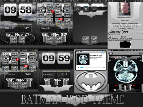 'WIP' Batman iPod Touch Theme by joshepi2010