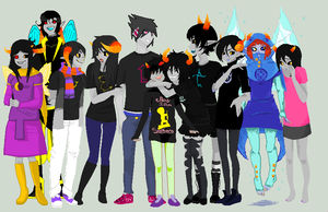 Homestuck Collab by NELIP0T