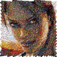 Tomb Raider Mosaic by Cornejo-Sanchez