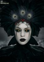 Dark Harpy Lady by ODSDesign