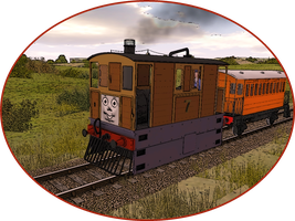 Railway Series Portraits - Toby by wildnorwester