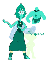 Lapis And Peridot Fusion by leo0125