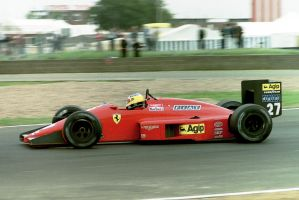 Michele Alboreto (Great Britain 1987) by F1-history