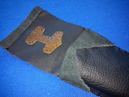 Small Leather Flute Holster 2 by Zarganath