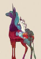 The last Unicorn by nellmeowmeow