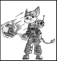 Ratchet and Clank by sicksake