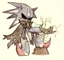No.28 Metal Sonic the Android by NextGrandcross