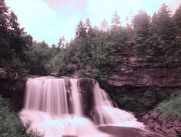 Mysterious Falls by Daemare
