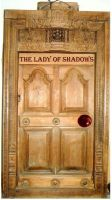 The Lady of Shadows--Door by Gerokeymaster
