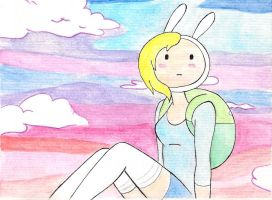 lovely fionna by zenshinibuu
