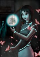 Mio from fatal frame crimson butterfly  by Zerox-II
