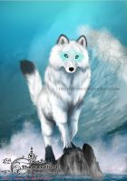 God Aegir Wolf by theversion
