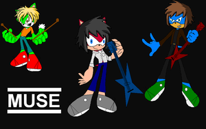 Muse, done Sonic style X3 by TheHappySpaceman01