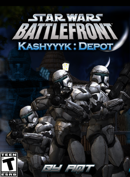 Star Wars Battlefront 2 : Kashyyyk Depot Cover by 411Remnant