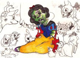collection disney zombie by yracema2