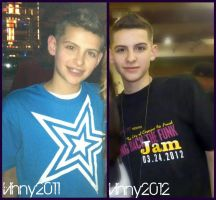 Vinny Then and Now. by lilubrownie