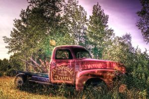 Antique Truck - Clean HDR by Witch-Dr-Tim