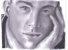 Channing Tatum Sketch by keishacollins