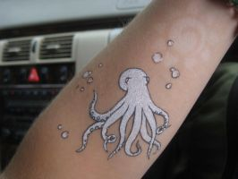 Octopus Tattoo by sing2mi