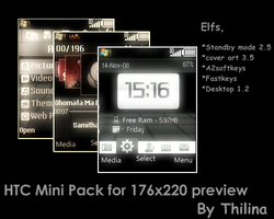 HTC pack for 176x220 SE-PRE by ThilinaC