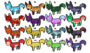 adoptables patch 1 :CLOSED: - all taken by Shadettaja