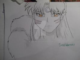 Sesshomaru by Keademia