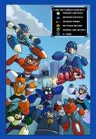 Mega Man Hidden Pictures Thing by MegaRyan104